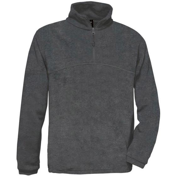 B&C | Highlander + - Fleece Pullover mit 1/4 Zip