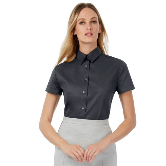 B&C | Sharp SSL /women - Twill Bluse kurzarm