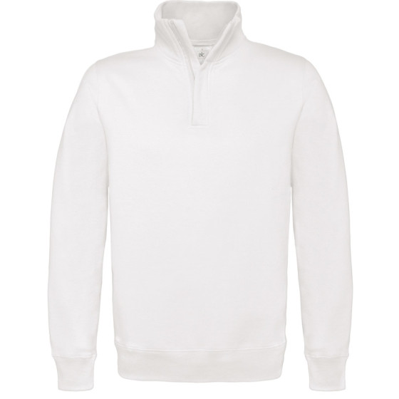 B&C | ID.004 80/20 - Sweater mit 1/4 Zip