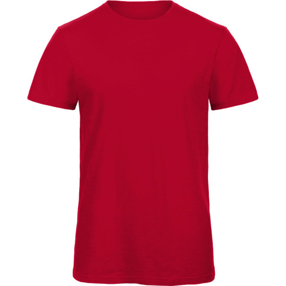 B&C | Inspire Slub T /men - Herren Medium Fit Slub Bio...