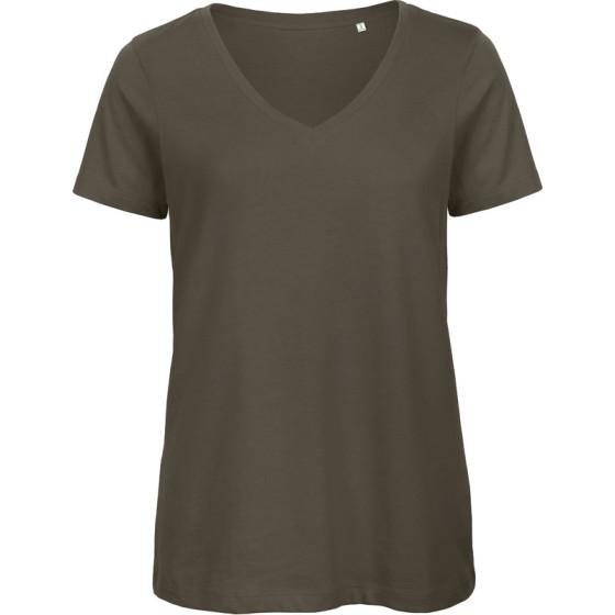 B&C   Inspire V T /women - Damen V-Ausschnitt T-Shirt