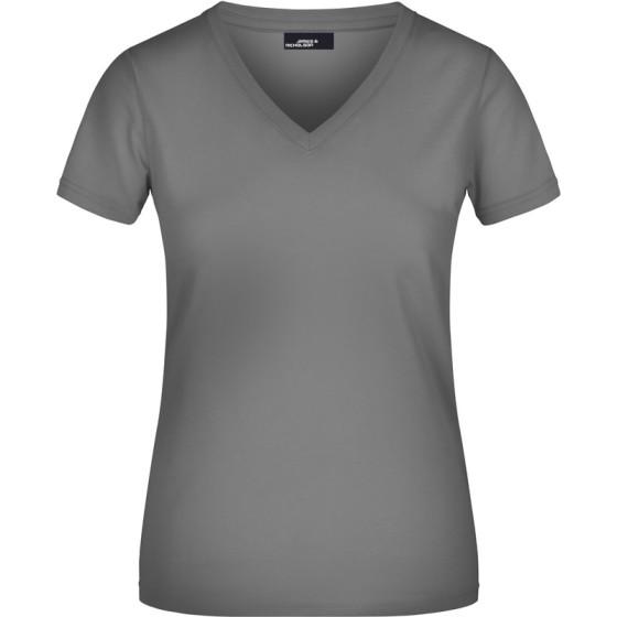 James & Nicholson | JN 04 - Damen V-Ausschnitt T-Shirt