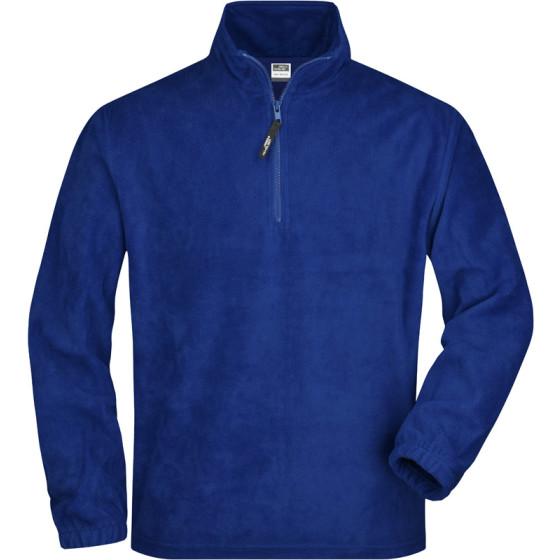 James & Nicholson   JN 43 - Fleece Pullover mit 1/4 Zip