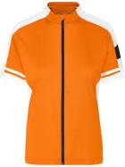 James & Nicholson   JN 453 - Damen Rad Shirt mit Zip