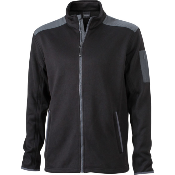 James & Nicholson | JN 591 - Herren Strick Fleece Jacke