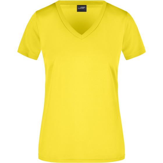 James & Nicholson   JN 735 - Damen V-Ausschnitt Sport T-Shirt