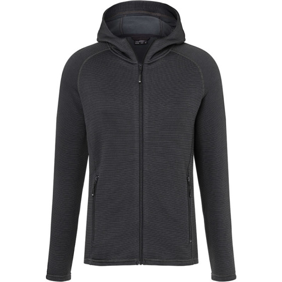 James & Nicholson | JN 786 - Herren Kapuzen Stretch Fleecejacke