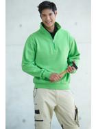 James & Nicholson | JN 831 - Workwear Sweater mit 1/2 Zip