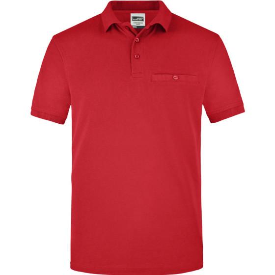 James & Nicholson | JN 846 - Herren Workwear Polo mit Brusttasche
