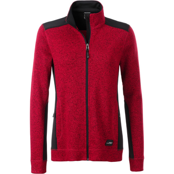 James & Nicholson | JN 861 - Damen Workwear Strickfleece Jacke - Strong