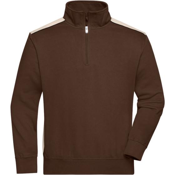James & Nicholson   JN 868 - Workwear Sweater 1/2 Zip - Color