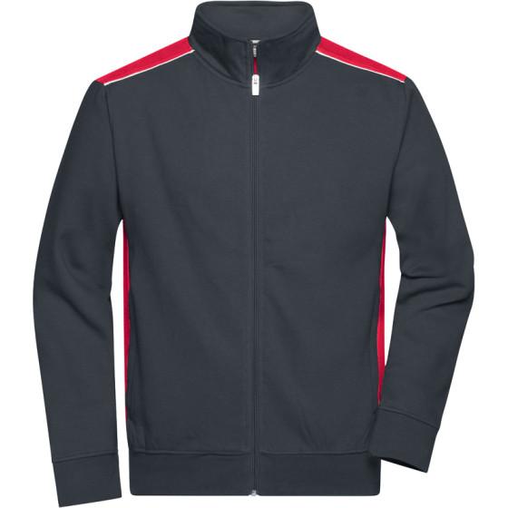James & Nicholson   JN 870 - Herren Workwear Sweat Jacke - Color