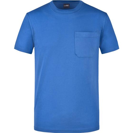 James & Nicholson | JN 920 - Herren T-Shirt mit Brusttasche