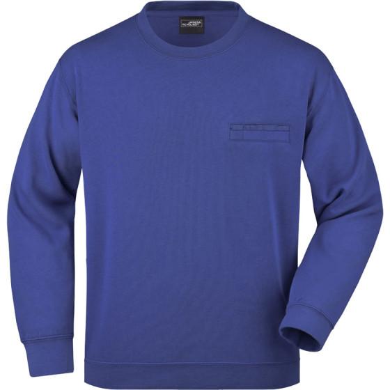 James & Nicholson   JN 924 - Sweater mit Brusttasche