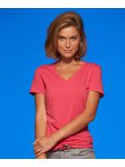 James & Nicholson | JN 928 - Damen Stretch V-Ausschnitt T-Shirt
