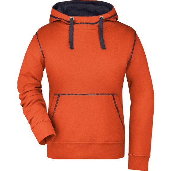 James & Nicholson   JN 960 - Damen Lifestyle Kapuzen Sweater