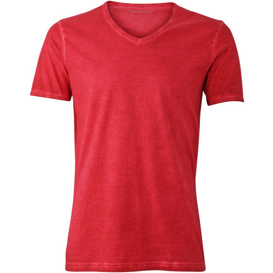 James & Nicholson | JN 976 - Herren V-Neck T-Shirt Gipsy