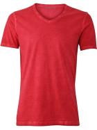 """James & Nicholson   JN 976 - Herren V-Ausschnitt T-Shirt """"Gipsy"""""""