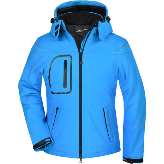 James & Nicholson | JN 1001 - Damen 3-Lagen Winter Softshell Jacke