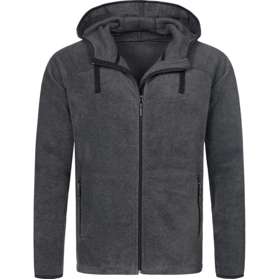 Stedman | Active Power Fleece Jacket - Herren Kapuzen Fleece Jacke