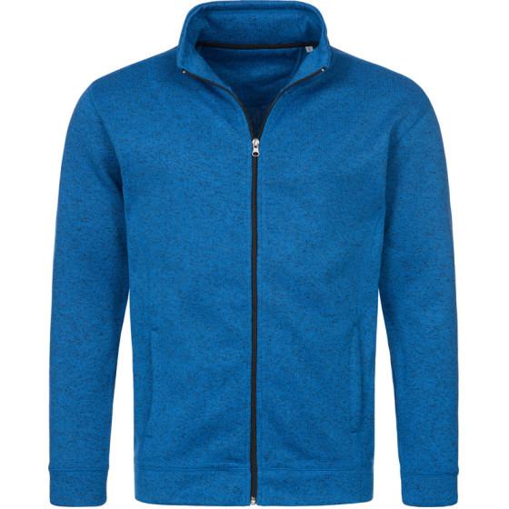 Stedman   Knit Fleece Jacket Men - Herren Strickfleece Jacke