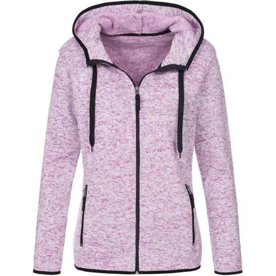 Stedman | Knit Fleece Jacket Women - Damen Strickfleece Jacke