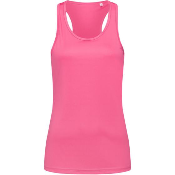 Stedman | Sports Top Women - Damen Interlock Sport T-Shirt ärmellos