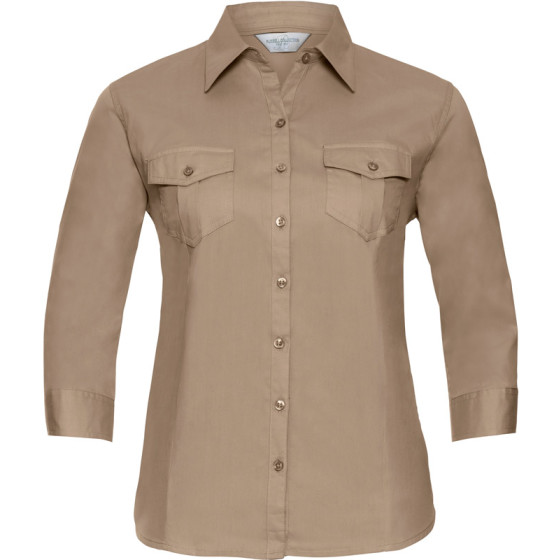 Russell | 918F - Twill Bluse 3/4 Arm