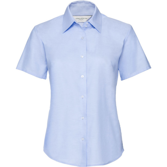 Russell | 933F - Oxford Bluse kurzarm
