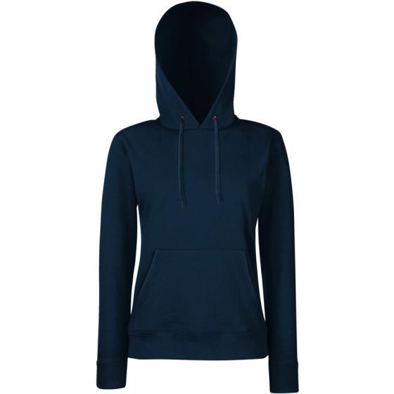 F.O.L. | Classic Lady-Fit Hooded Sweat - Damen Kapuzen Sweater
