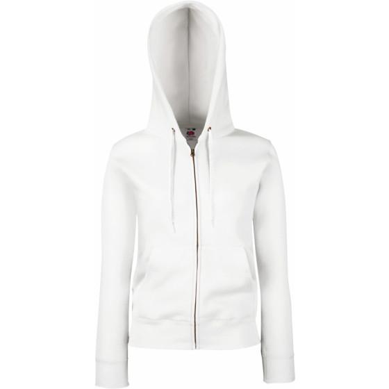 F.O.L. | Premium Lady-Fit Hooded Jacket - Damen Kapuzen Sweatjacke
