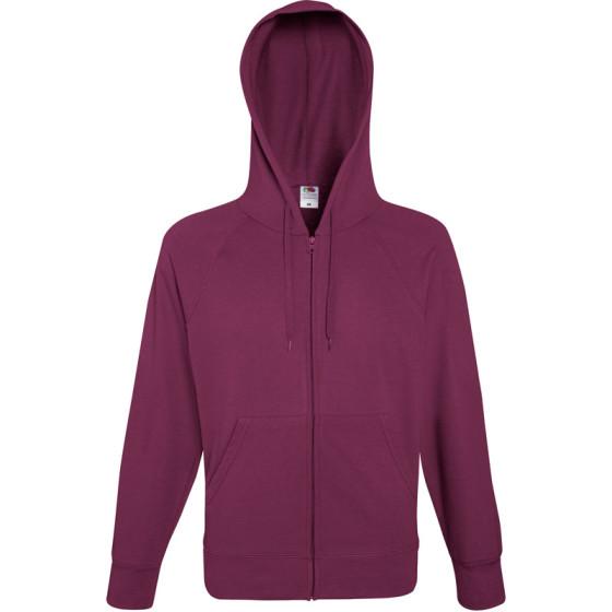 F.O.L. | Lightweight Hooded Sweat Jacket - Herren Kapuzen Sweatjacke