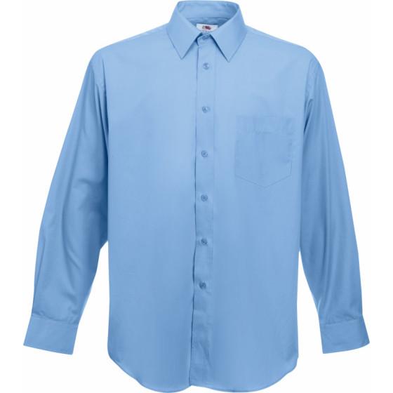 F.O.L. | Poplin Shirt LSL - Popeline Hemd langarm