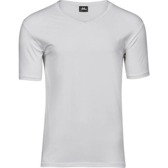 Tee Jays   401 - Herren Stretch V-Ausschnitt T-Shirt