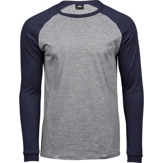 Tee Jays | 5072 - Herren Baseball T-Shirt langarm