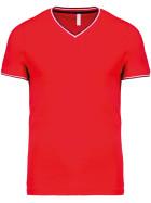 Kariban | K374 - Herren Piqué V-Ausschnitt T-Shirt