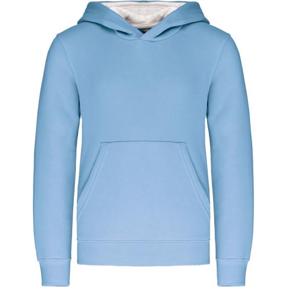 Kariban | K453 - Kinder Kontrast Kapuzen Sweater