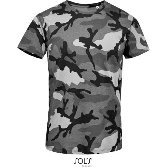 SOLS   Camo Men - Herren Camouflage T-Shirt