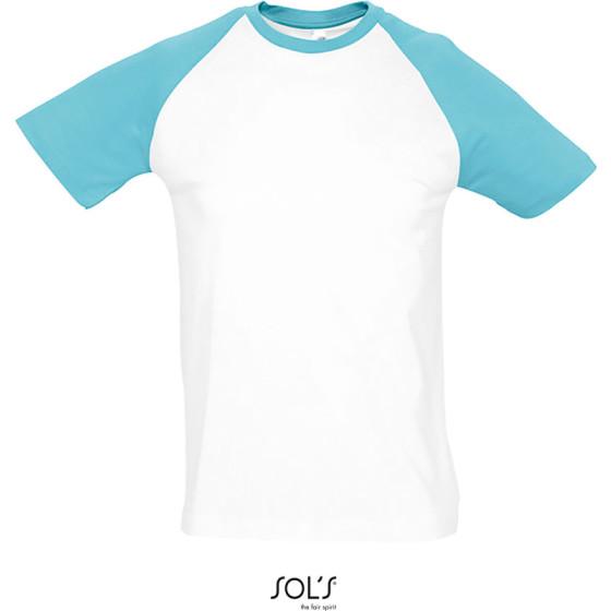 SOLS   Funky - Herren Raglan T-Shirt 2-farbig
