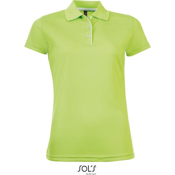 SOLS | Performer Women - Damen Piqué Sport Polo