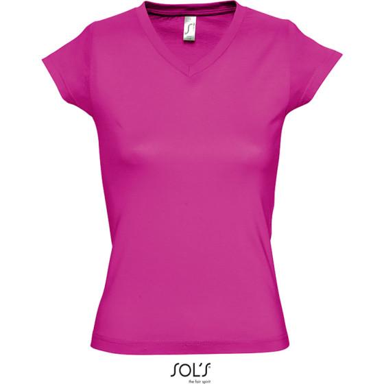 SOLS | Moon - Damen V-Ausschnitt T-Shirt