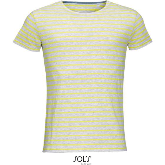 SOLS   Miles Men - Herren T-Shirt gestreift