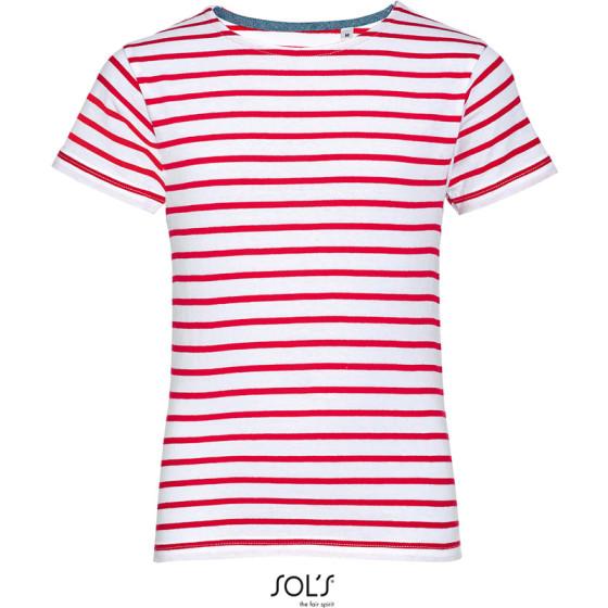 SOLS   Miles Kids - Kinder T-Shirt gestreift