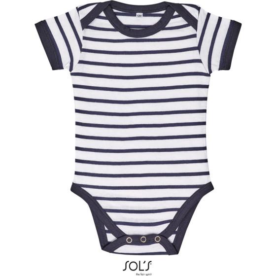 SOLS | Miles Baby - Baby Body gestreift