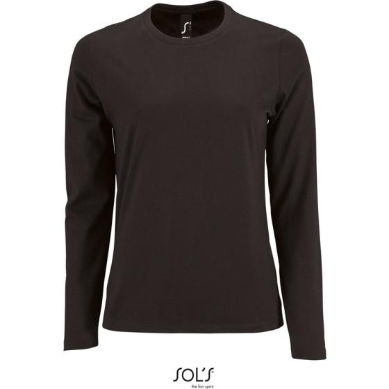 SOLS | Imperial LSL Women - Damen T-Shirt langarm