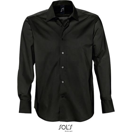 SOLS   Brighton - Stretch Hemd langarm