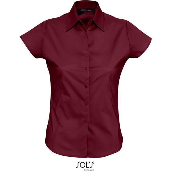 SOLS | Excess - Stretch Bluse kurzarm