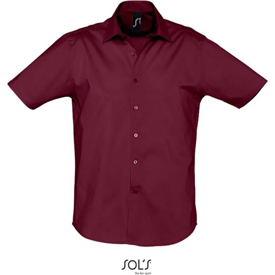 SOLS | Broadway - Stretch Hemd kurzarm