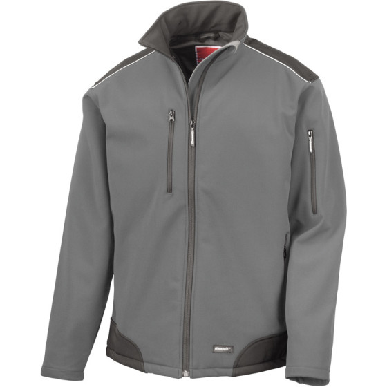 Result Work-Guard | R124X - 3-Lagen Softshell Ripstop Workwear Jacke