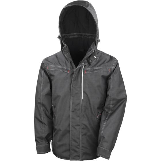 Result | R326X - Workwear Jacke in Denim Struktur